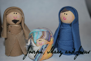 Peg Doll Nativity
