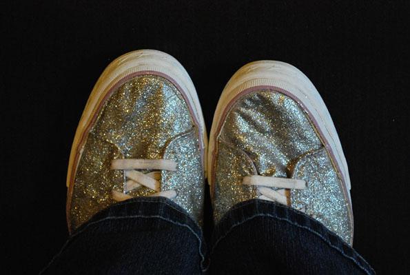 glittershoes6 Boring Shoe Redo