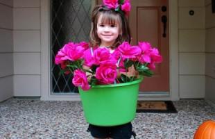 Flower Pot Girl Costume Tutorial
