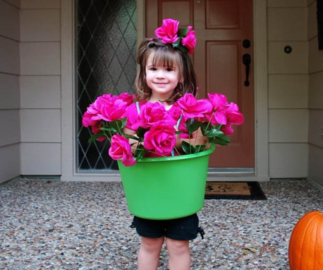 DIY Flower Pot Costume