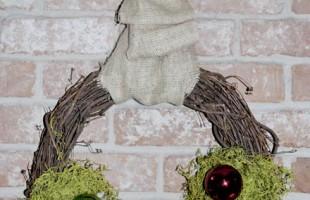Rustic Christmas Wreath Tutorial