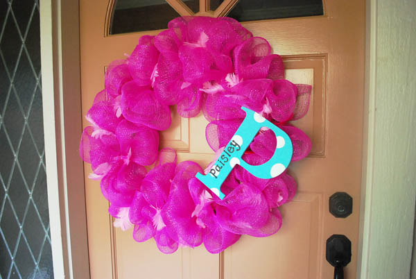 how to make a wreath for your front door