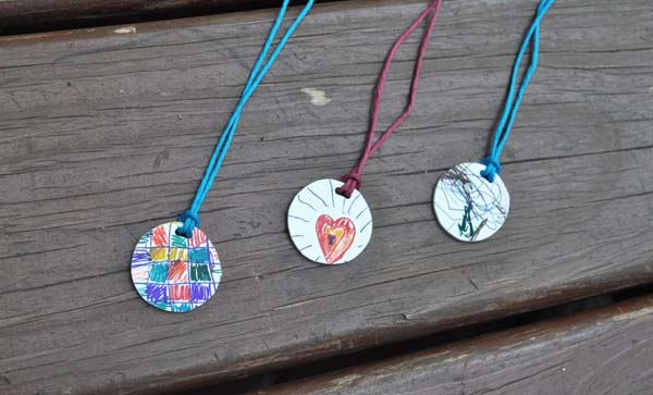 blogshrinkydinknecklace Shrinky Dink Pendants Tutorial ~ Mothers Day