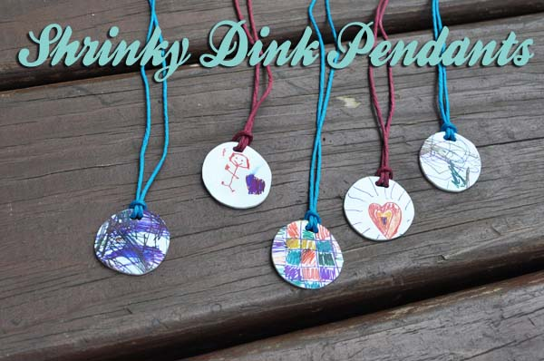 blogshrinkydinkpendants1 Shrinky Dink Pendants Tutorial ~ Mothers Day