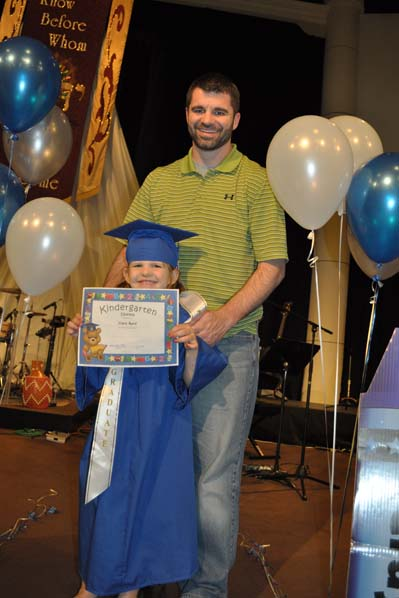claragraduationdamion2small Kindergarten Graduation