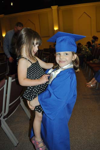 claragraduationelliesmall Kindergarten Graduation