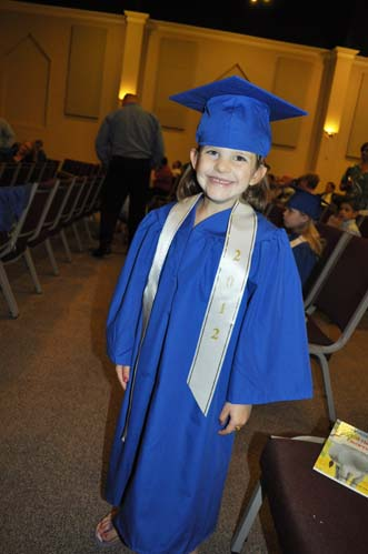 claragraduationsmall Kindergarten Graduation