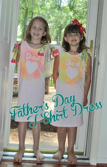 blogfathersdaytshirtdress Fathers Day Crafty Recap