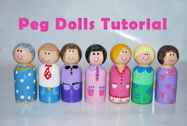 Peg Dolls Tutorial