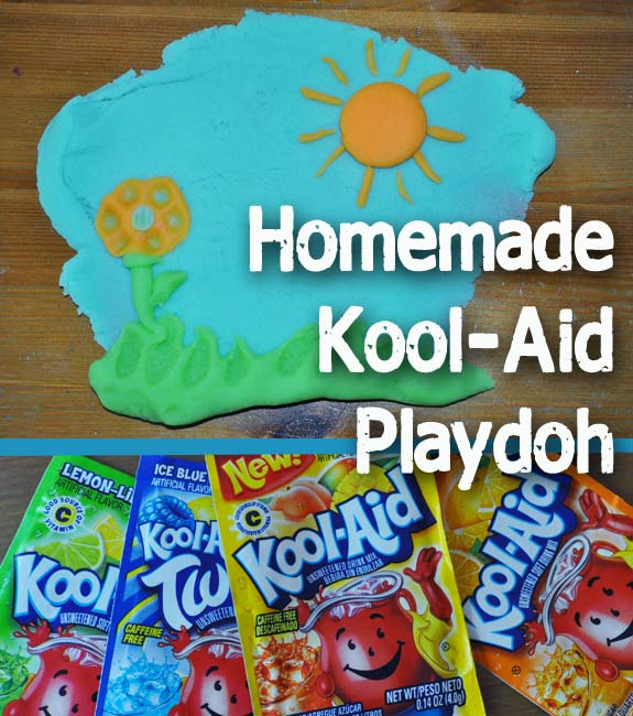 Homemade Kool-Aid Playdoh