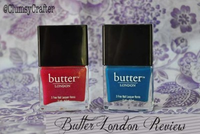 Butter London Nail Polish Review – — Clumsy Crafter
