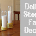 dollar store fall candles 150x150 Crafts