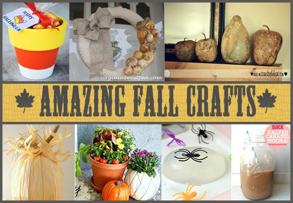 fall crafting ideas 13 amazing and easy fall crafts clumsy crafter 1979