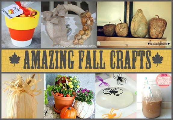 Amazing Fall Crafts