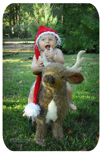 Deer Christmas Baby Sneak Peek
