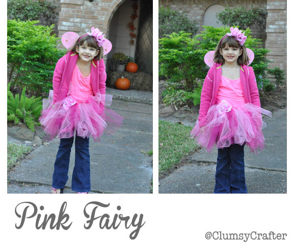 Pink Fairy Costume  sc 1 st  Clumsy Crafter & Pink Fairy Costume - Clumsy Crafter
