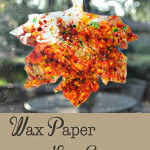 Wax Paper Sun Catchers by @ClumsyCrafter 150x150 Crafts