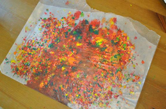 meltedwax Wax Paper Sun Catchers for Kids