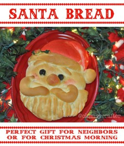 Santa Bread Tutorial