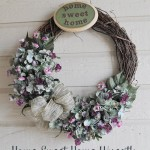 Home Sweet Home Wreath 150x150 Crafts