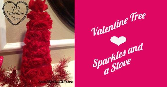 Valentine Tree via Sparkles and a Stove