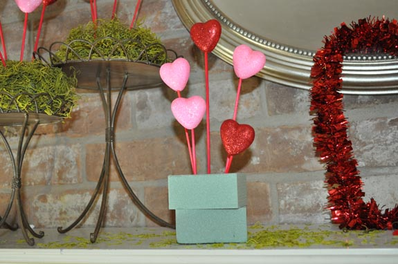 Valentine's Dollar Store Decor How To