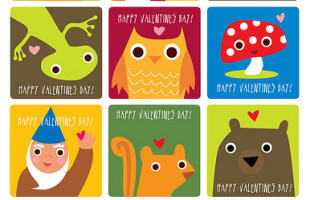Free Printable Valentine's Cards (a lot of them!)