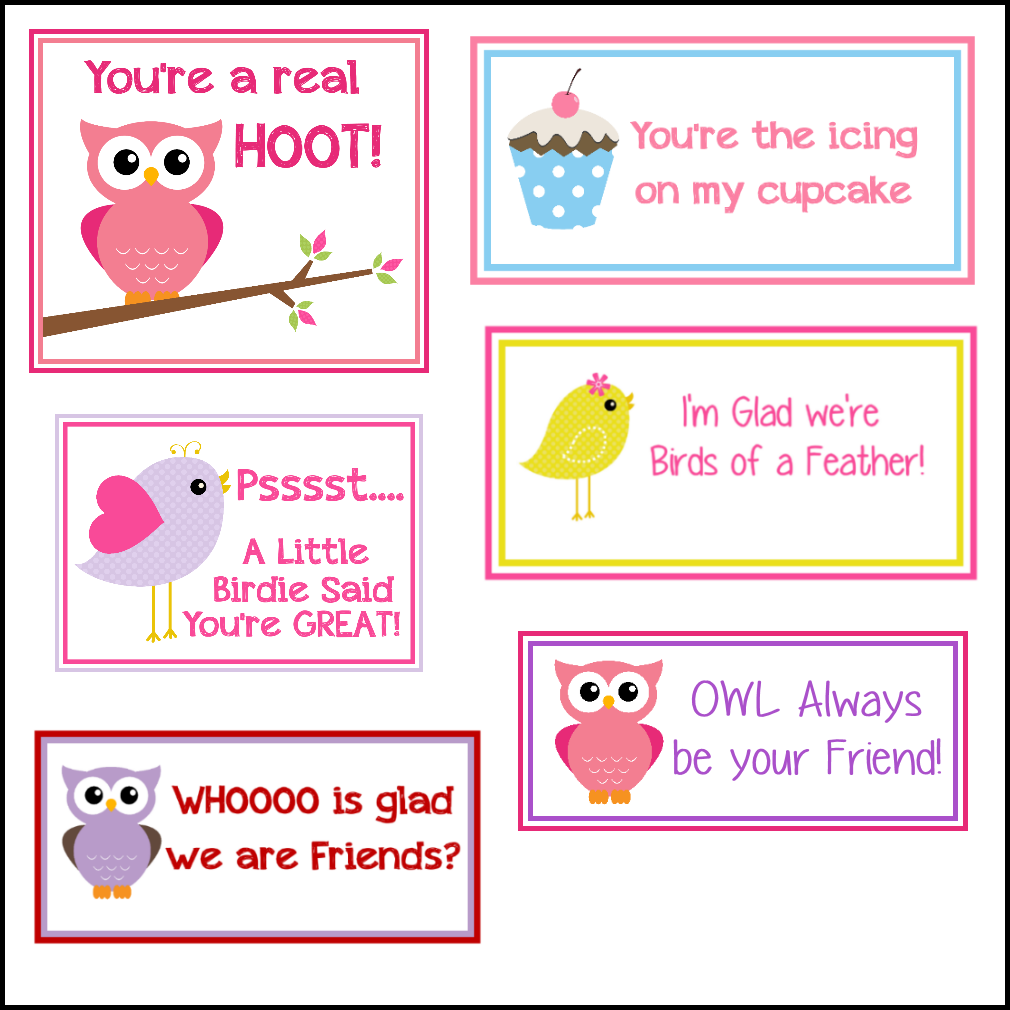 Crazy Little Projects Free Printable Valentines