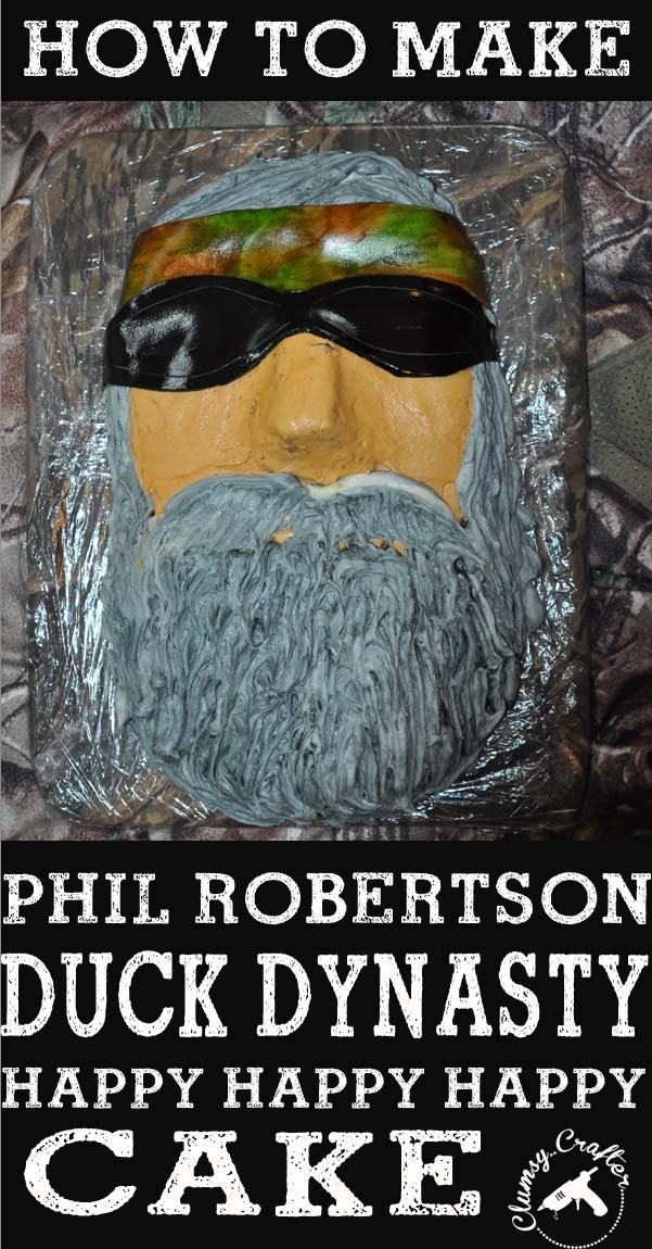 How to make a Phil robertson Duck Dynasty Cake