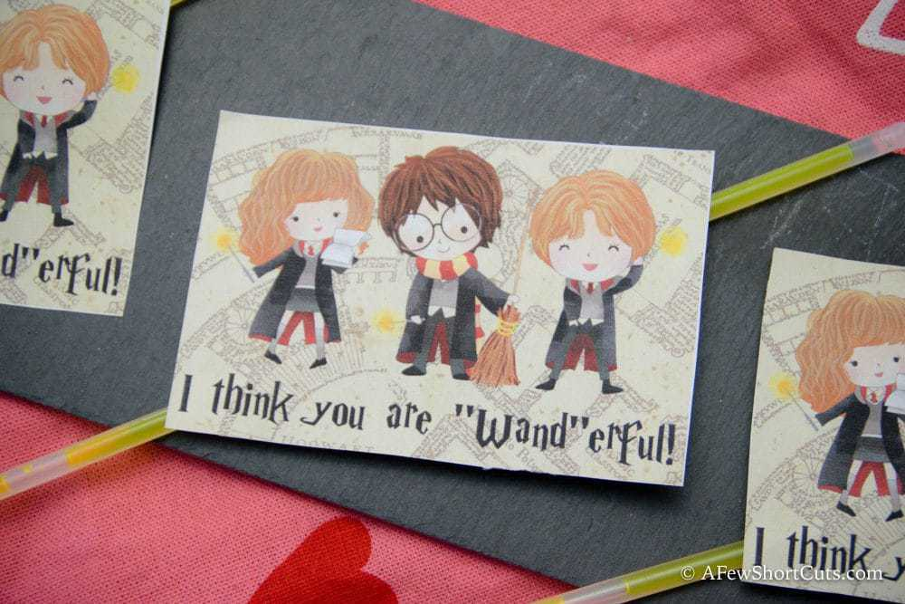 Harry Potter Printable Valentines