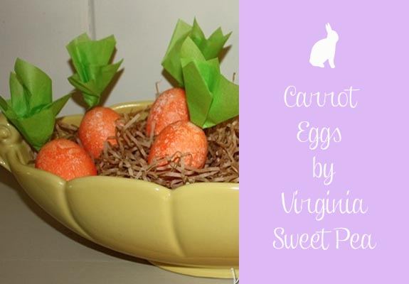 Carrot Eggs by Virginia Sweet Pea
