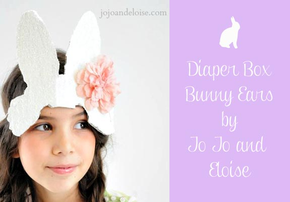 Diaper Box Bunny Ears by Jo Jo and Eloise