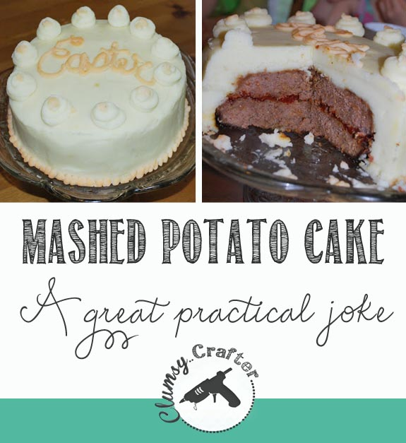 Mashed Potato Cake - Great Practical Joke for Kids