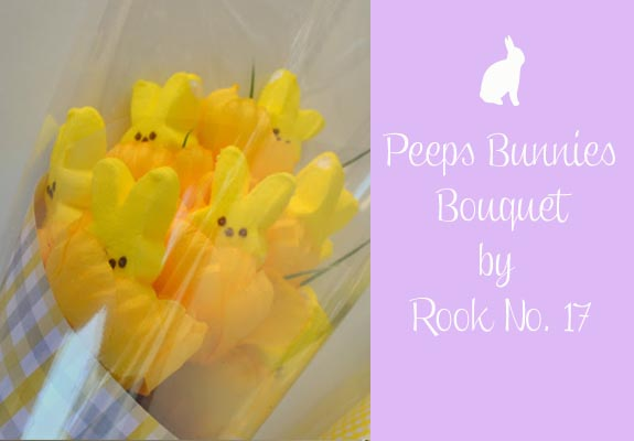 Peeps Bunnies Bouquet by Rook No 17