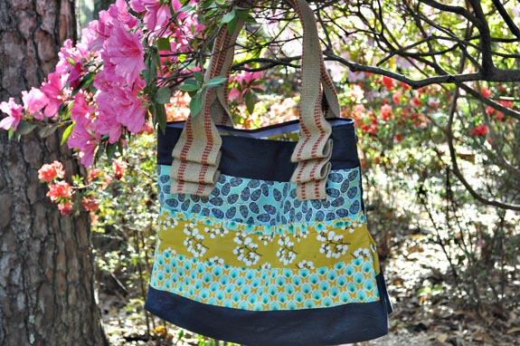 Scrappy Tote Bag