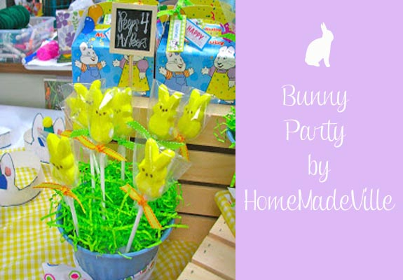bunny party by Homemadeville
