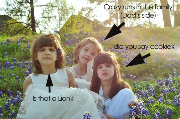 Girls thoughs in the bluebonnets - ClumsyCrafter