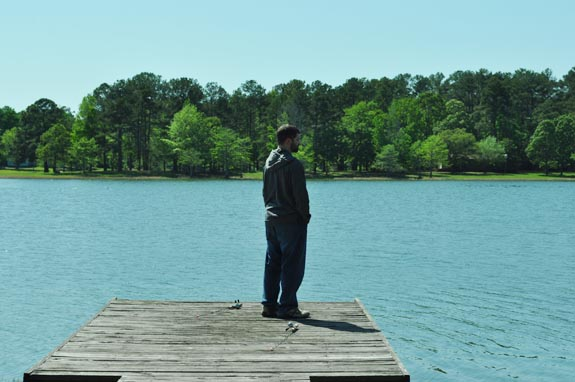 damion on dock