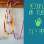 decoupage Kids Art Beads by Silly Pearl 150x150 Crafts