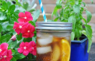 DIY super easy Mason Jar Travel Lids from Clumsy Crafter