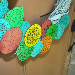 Festive Summer Wreath made with Wooden Doilies 150x150 Crafts