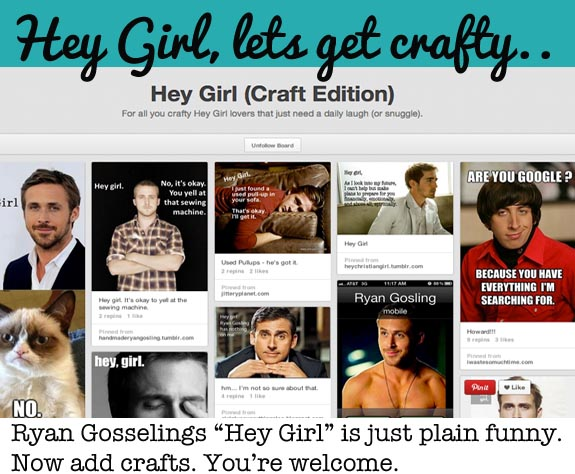 Ryan Gosselin Hey Girl Craft Version - funny !