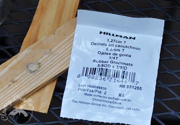 Rubber grommets for Mason Jar lids