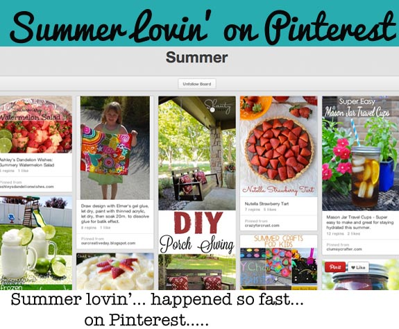 Great Board with a ton of Summer Activites