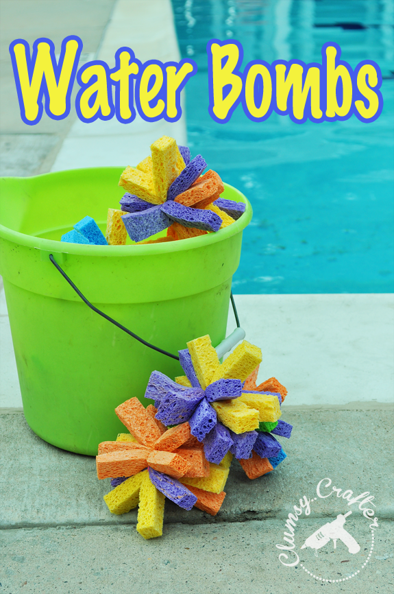Water bombs are great for easy summer water play! No more bored kids.