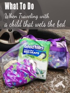 How to Travel with a Bedwetter