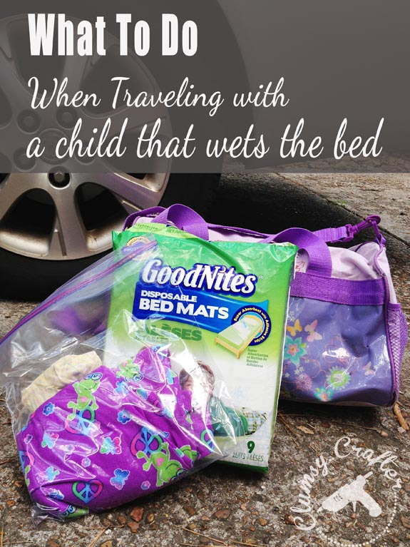What to do when traveling with a child that wets the bed