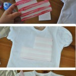 Easy DIY Flag shirt for 4th of July 150x150 Crafts