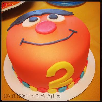 Ernie Sesame Street Cake