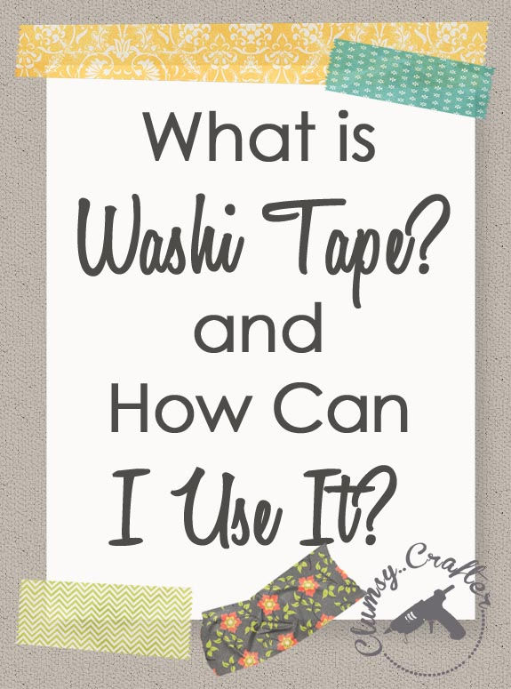 Uses For Washi Tape